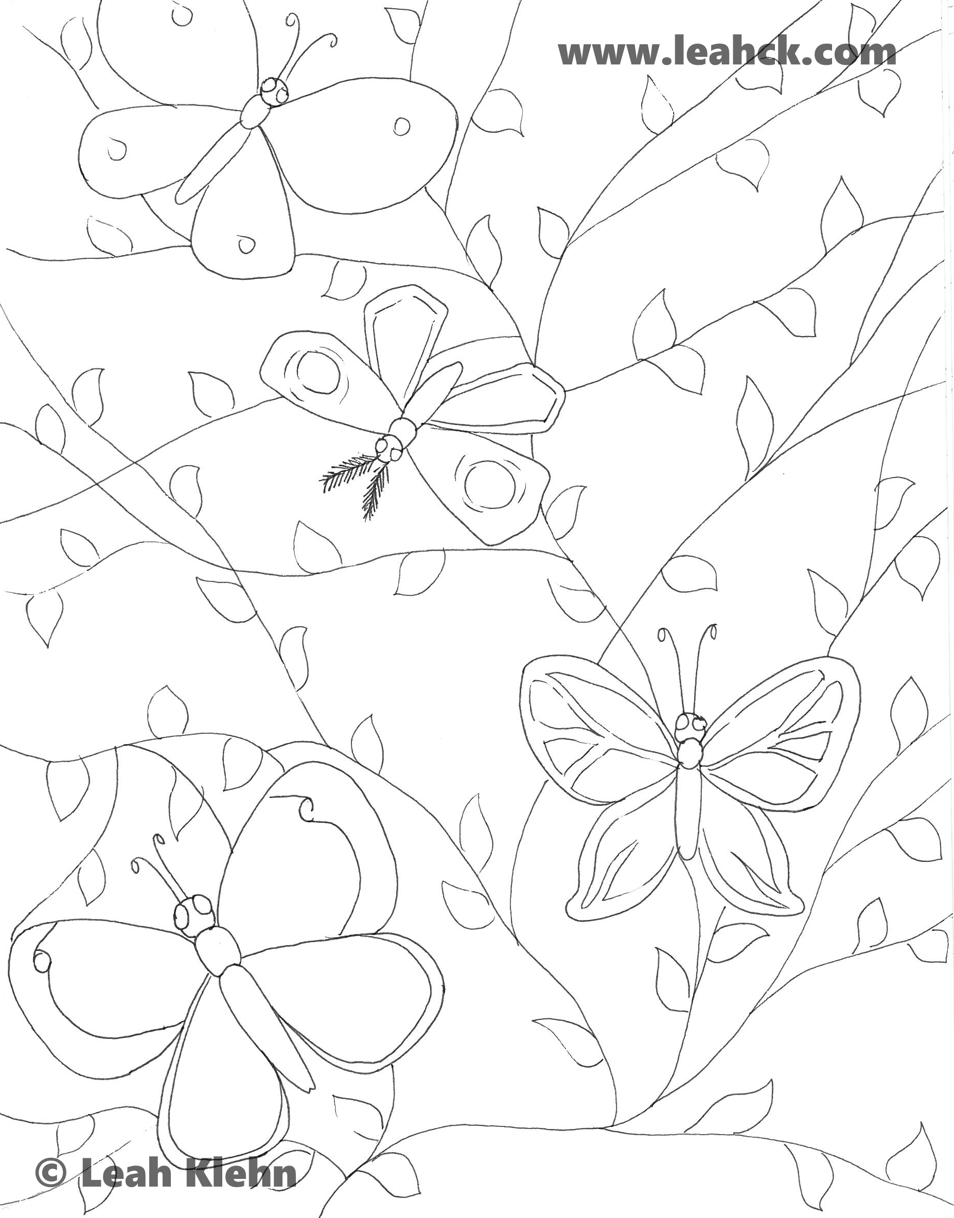 Butterflies and Vines